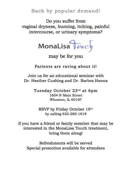 MonaLisa Open House Flyer